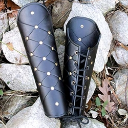 Leather Greaves 26-200854