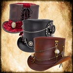Steampunk Style Hats