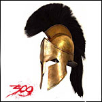 300 The Movie Props Replicas Clothing Accessories Spartan Sword Shield Helmet from Frank Millers Movie