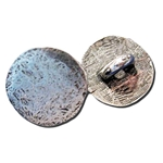 Hammered Pewter Button 107.0933