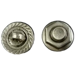 Nut and Bolt Pewter Button 107.1170