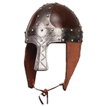 Early Norman Spangenhelm - Leather and Steel 300482