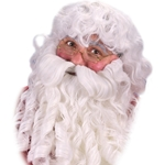 Deluxe Santa Wig, Beard and Eyebrows Set 38-19027
