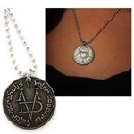 Faceless Man Coin Necklace 417-FM-Necklace