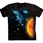 Solar System Adult T-Shirt