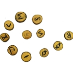 Natural Wood Rune Set