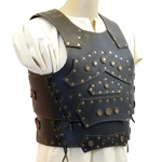 Barbarian Leather Breastplate - Brown
