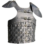 Woven Leather Breastplate and Pauldrons 65-11-31