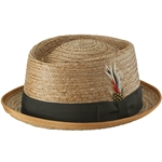 Coconut Be-Bop Hat,classic pork pie hat