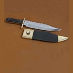 Bowie Knife with Horn Handle AH-3198