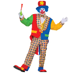 Clown on The Town Adult Costume 100-152324