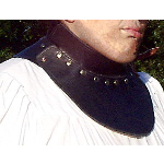 Spanish Style Leather SCA Gorget BTS-2120