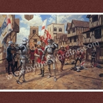 The Battle of St. Albans Medieval Greeting Cards F5