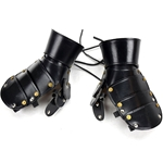 Leather Mitten Gauntlets - LARP Grade