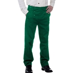Plus Size Victorian Steampunk Trousers in Green