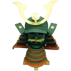 Japanese Samurai Helmet Oda Nobunaga and Mempo  sc 1 st  SCA Leather Armor : samurai costume helmet  - Germanpascual.Com