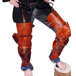 Full Leather Leg Armor with Scales