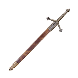 Scottish Claymore Letter Opener with Scabbard