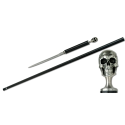 Skull Carbon Fiber Cane With Spike SD12720