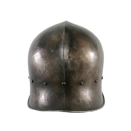 Sca Leather Armor - LARP Archers Sallet